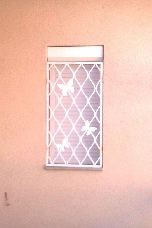 Pillangós ablakrács