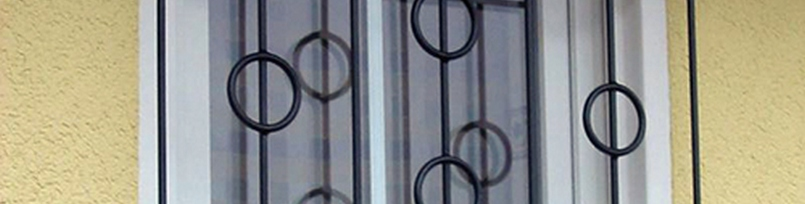 Dekoratív ablakrács, ablakrács